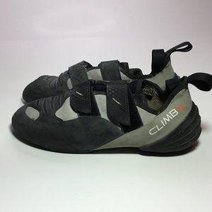 Climb X MB-X Men's Climbing Shoes Black/Gray 7.5